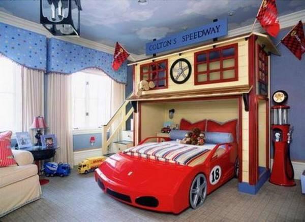 Декор детской комнаты для мальчиков